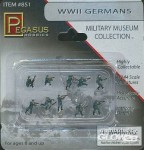 Figurki, WW II Germans Military Museum Collection, skala 1:144, Pegasus PG0851
