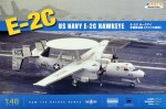 Samolot, US Navy E-2C Hawkeye, skala 1:48, KINETIC 48013 K48013