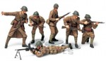 Figurki, French Infantry Set, skala 1:35, Tamiya 35288