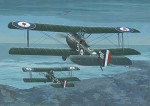 Samolot, Sopwith Strutter Comic Fighter , skala 1:48, RODEN 407