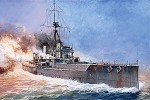 British battleship HMS Dreadnought, skala 1:350, ZVEZDA 9039
