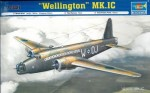 Wellington Mk.IC, skala 1:72, TRUMPETER 01626