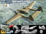 Samolot, NORTHROP P-61A BLACK WIDOW, skala 1:48, LION ROAR 4802