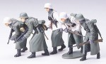 Figurki,  German Assault Infantry w/Winter, skala 1:35, Tamiya 35256