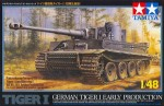 Czołg, Tiger I Early Produktion, skala 1:48, Tamiya 32504