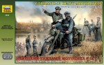 Motor, German G-12 Heavy Motorcycle, skala 1:35, Zvezda 3632