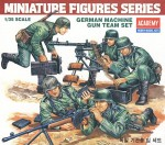 Figurki, German Machine Gun Team Set, skala 1:35, Academy 1379
