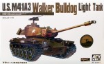 M41A3 Walker Bulldog Light Tank, skala 1:35, AFV CLUB 35041