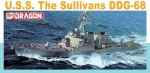 Okręt, U.S. Navy USS The Sullivans DDG-68 , skala 1:350, DRAGON 1033