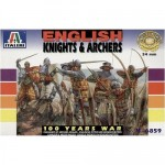 Figurki, English Knights & Archers - wojna 100-letnia, skala 1:32, Italeri 6859