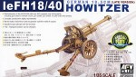 LeFH18/40 10.5cm German Howitzer, skala 1:35, AFV-CLUB 35089