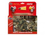 Figurki, US Infantry (World War II) Multipose Starter Set, skala 1:32, AirFix 55212
