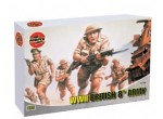 Figurki, British 8th Army, skala 1:72, Air Fix A01709