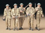 Figurki, British Infantry on Patrol, skala 1:35, Tamiya 35223