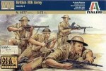 Figurki, British 8th Army, skala 1:72, Italeri 6077