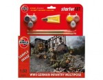 Figurki, German Infantry (World War II) Multipose Starter Set, skala 1:32, AirFix 55210