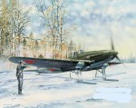 IL-2 Sturmovik on Skis , skala 1:32, HOBBY BOSS 83202