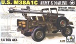 JEEP M38 w/106 mm GUN , skala 1:35, AFV Club 35S19