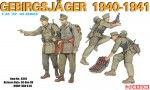 GERMAN GEBIRSJAGER, skala 1:35, DRAGON 6345