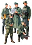 Figurki, German Field Comander Set, skala 1:35, Tamiya 35298