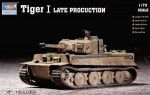 Czołg, Tiger I Late Production, skala 1:72, TRUMPETER 07244