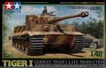 Czołg, German Tiger I late production, skala 1:48, Tamiya 32575