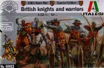Figurki,100's Years War, British knights and warriors, skala 1:32, Italeri 6902