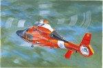 US Coast Guard HH-65C Dolphin Helicopter , skala 1:35, TRUMPETER 05107