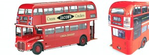 Autobus, London Bus AEC Routemaster, skala 1:24, REVELL 07651
