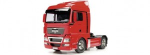 Model RC, MAN TGX 18.540 4x2 XLX Red Edition, skala 1:14, TAMIYA 56332