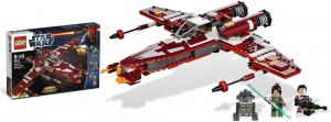 Klocki LEGO, Star Wars, Republic Striker-class Starfighter, LEGO 9497