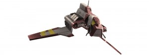 "Republic Attack Shuttle (Clone Wars) ""easykit"", skala 1:120, Revell 06683"